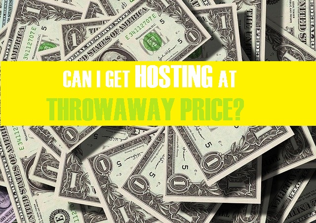 how you can save money on web hosting